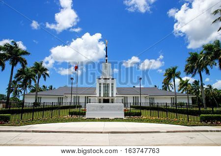 Tongatapu, Tonga - November 18: Church Of Jesus Christ Of Latter-day Saints On November 18, 2013 On