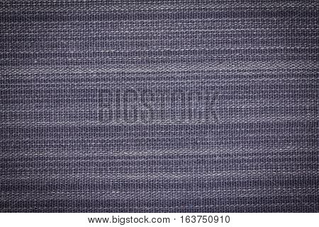 Gray fabric texture pattern or fabric background for design with copy space for text or image.