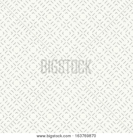 Seamless pattern. Abstract geometrical background. Modern stylish texture with thin dashed lines. Regularly repeating rhombuses and crosses. Vector element of graphical design