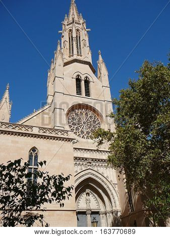 Santa Eulalia Church In Palma De Mallorca