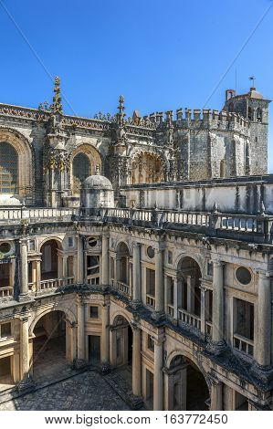 Monastery of the Order of Christ - the main stronghold of the Portuguese Templars and their successors the Order of Christ