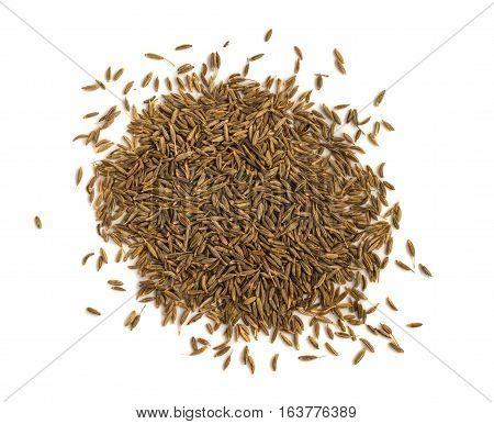 Pile Of Cumin Or Zira Seeds