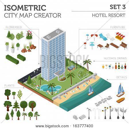 Isometric City Map Elements_4