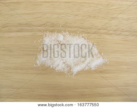 Finely ground not iodized red rock salt