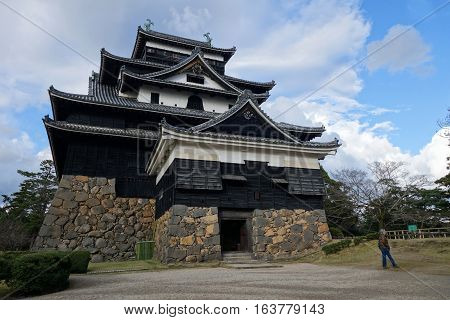 Matsue Castle In Matsue In Shimane Prefecture, Japan