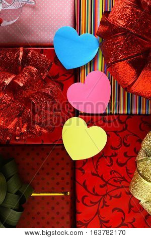 Valentine Heart With Presents