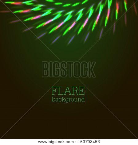 Vector Illustration Of Bright Bokeh