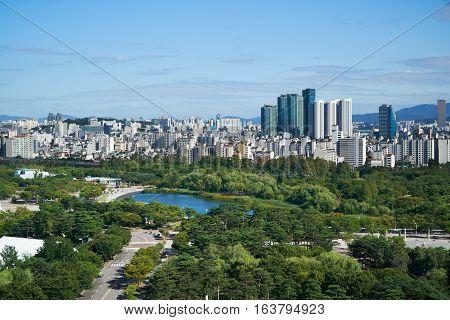 Cityscape Of Mapo-gu