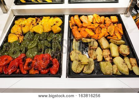 Cooked Vegetables Mix For Healthy Diet
