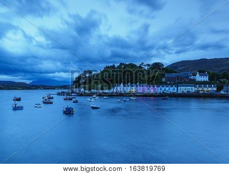 Portree On Isle Of Skye