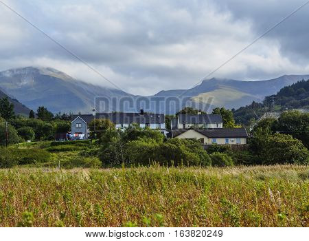 UK Scotland, Fort William, View of the Highlands landscape.