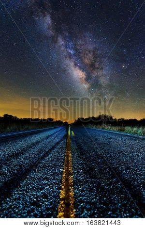 Milky Way Middle Of The Road