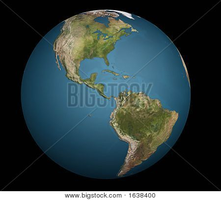 Earth From America