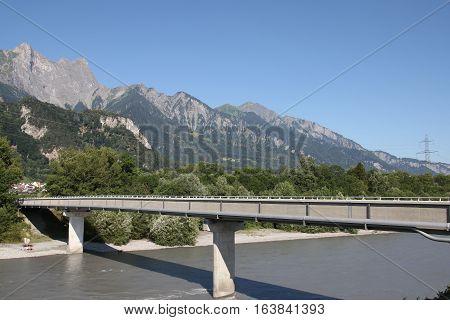 Rhine Footbridge