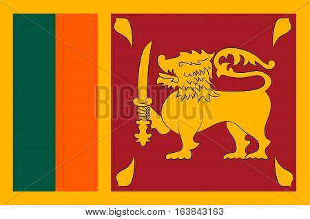 Flag of Sri Lanka officially the Democratic Socialist Republic of Sri Lanka is an island country in South Asia near south-east India