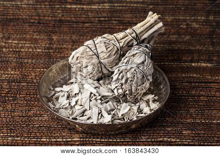 Incense of Salvia Apiana (White sage, sacred sage, bee sage, california sage)