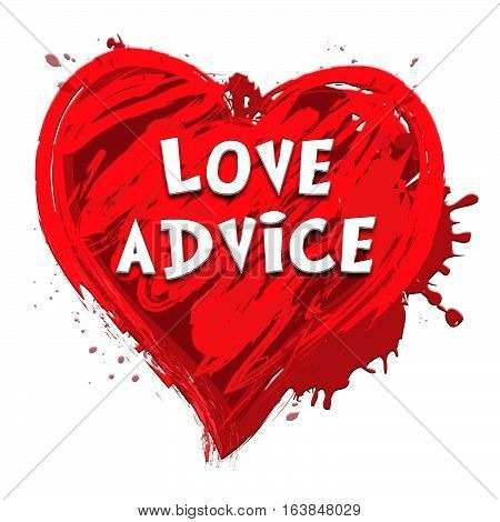 Love Advice Meaning Marriage Guidance 3D Illustration