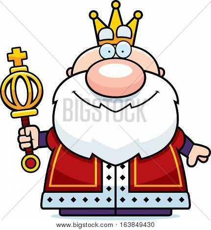 Cartoon King Scepter