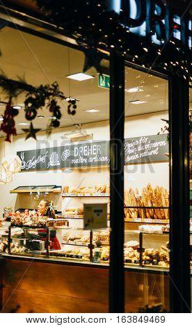 Dreher Bakery French Bakery Street Strasbourg