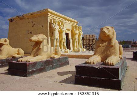 Cinematographic Sets In Ouarzazate, Morocco.