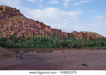 The Fortress Of Ait Ben Haddou, In Morocco.