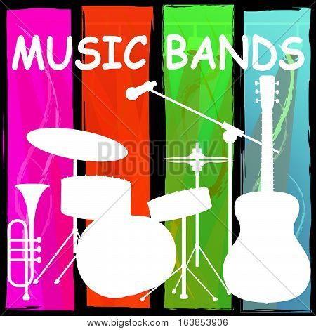 Music Bands Meaning Audio Musical And Melody