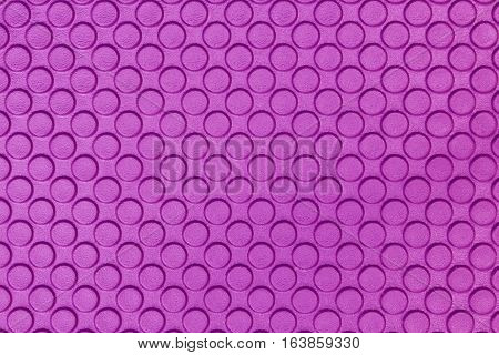close up purple Eva ethylene foam texture