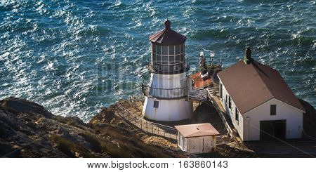 Point Reyes National Seashore Lighthouse in Northern California