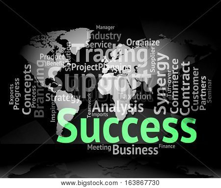 Success Word Meaning Resolution Winner And Win