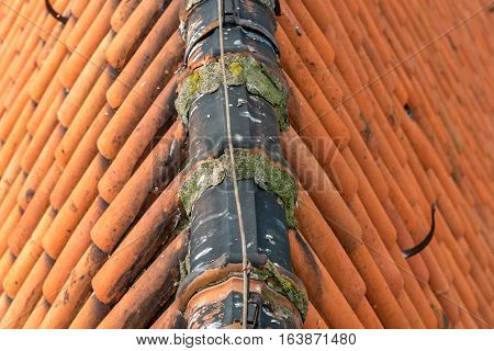 Old Roof Of The Church