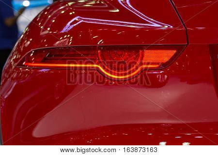 Car Taillight Or Taillamp