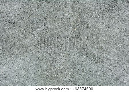 Plaster wall texture. Gray plastered concrete wall