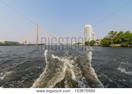 Boat Travel On The Chao Phraya River