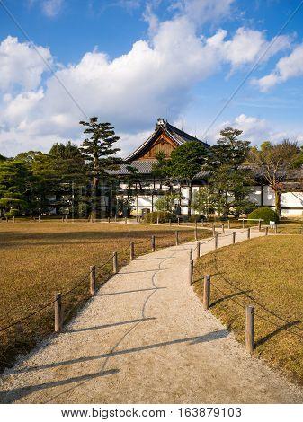 Honmaru Palace in Nijo Castle Kyoto Japan