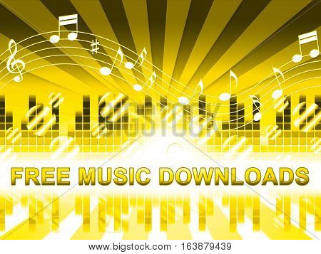Free Music Downloads Shows No Cost Mp3