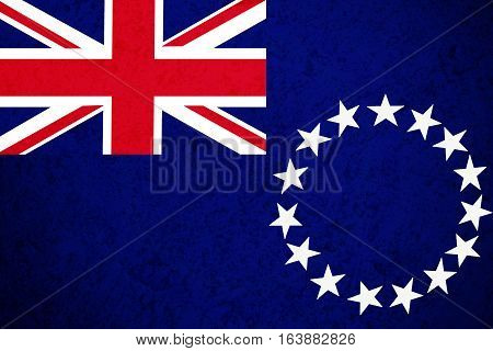 Cook Islands flag ,Cook Islands national flag illustration symbol