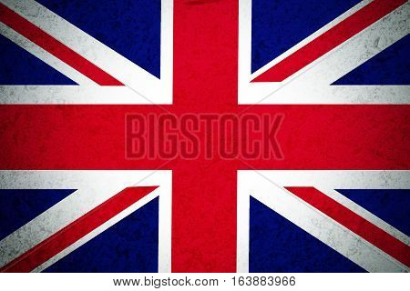 United Kingdom flag illustration symbol. The kingdom