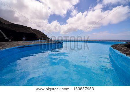 Landscape Of El Hierro Canary Island Spain