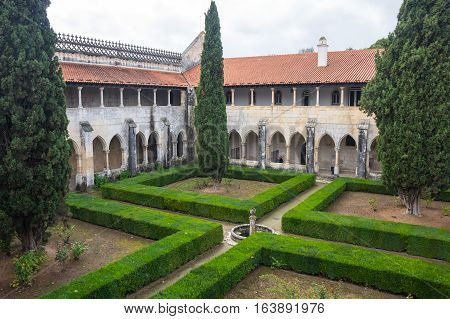 BATALHA, PORTUGAL - OCTOBER 17, 2015: The Monastery of Batalha (Monastery of Saint Mary of the Victory) is one of the best and original examples of Late Gothic architecture in Portugal intermingled with the Manueline style