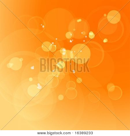 Abstract vector background & lens flares