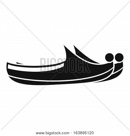 Turkish shoes icon. Simple illustration of turkish shoes vector icon for web