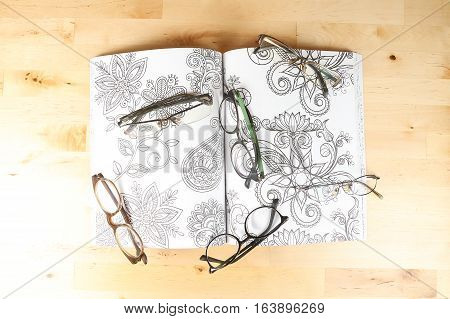 Eyewear spectacles optical glass frame specs eyesight vision