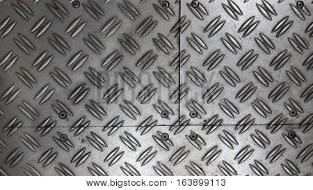 Anti Slip Metal Sheet Floor.