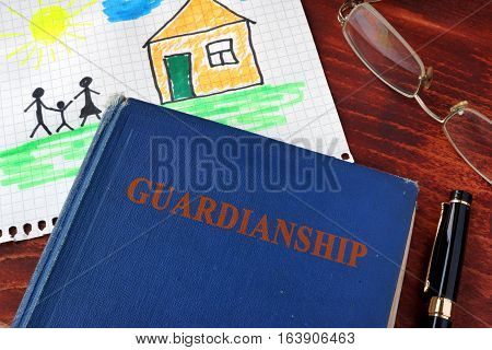 Book with title Guardianships and children's picture. (I am owner of picture.)