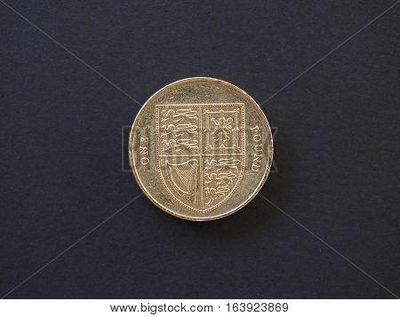 1 Pound Coin, United Kingdom