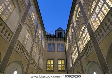Historic house in the town of Goerlitz, Germany