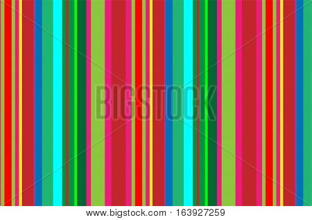 Seamless pattern made up of straight color lines