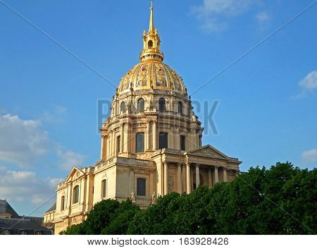 Saint-Louis-des-Invalides Cathedral, Part of Les Invalides, The National Residence of the Invalids in Paris, France