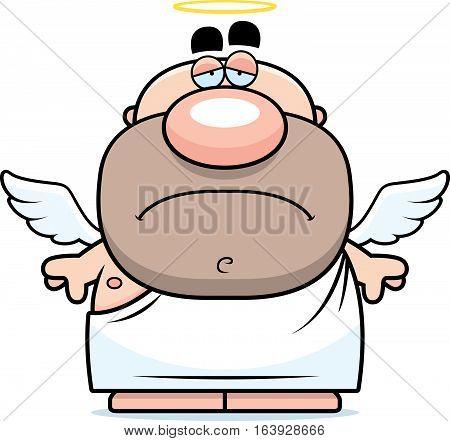 Sad Cartoon Angel