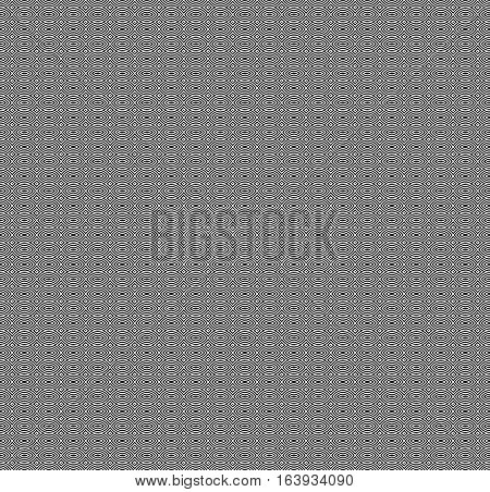 Vector monochrome seamless pattern, black & white repeat symmetric texture. Simple abstract mosaic background, geometric figures. Design element for prints, stamping, decoration, textile, digital, web